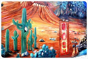 Mexican-Mural