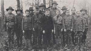 chalanský oddiel 1918