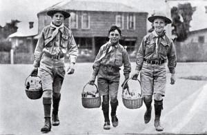 nákup po jedlo BP troop 1907