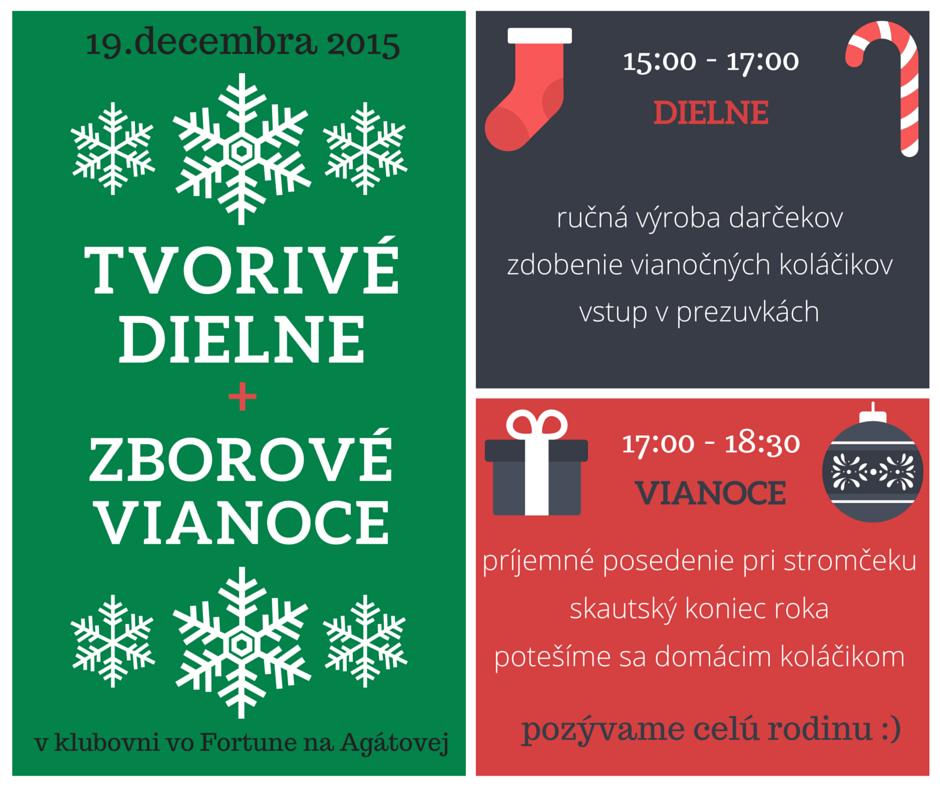 pozvánka_tvorivé dielne + zborové vianoce 2015