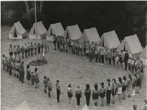 tábor nástup